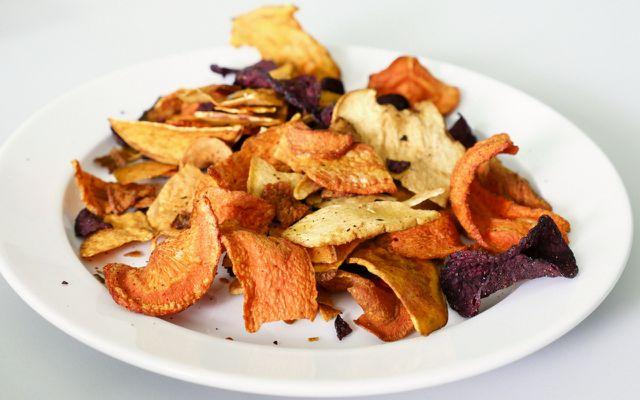 Test Gemüsechips