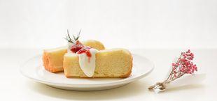 water cake, egg-free cake