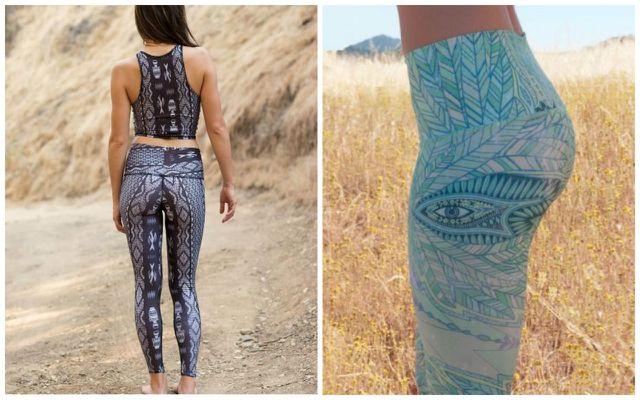 Upcycling Produkte aus Müll: Yoga Hose von Teeki