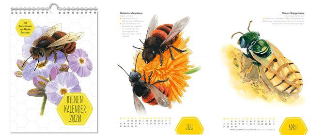 Kalender 2020: Bienen