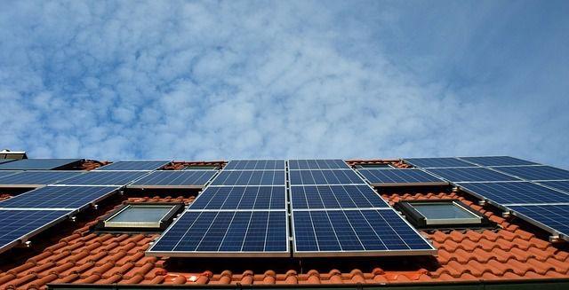 Solaranlagen sind wesentlicher Bestandteil des Sonnenhauses.