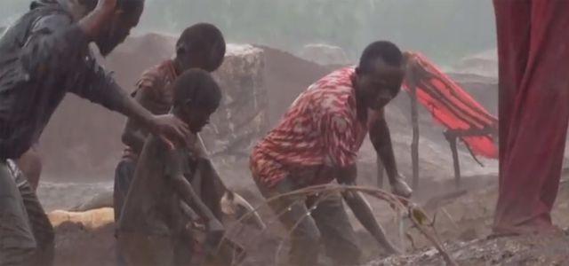 Video: Kinderarbeit in Kobalt Minen im Kongo