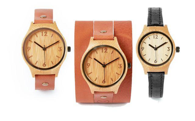 Nachhaltige Uhren von Bamboo Revolution