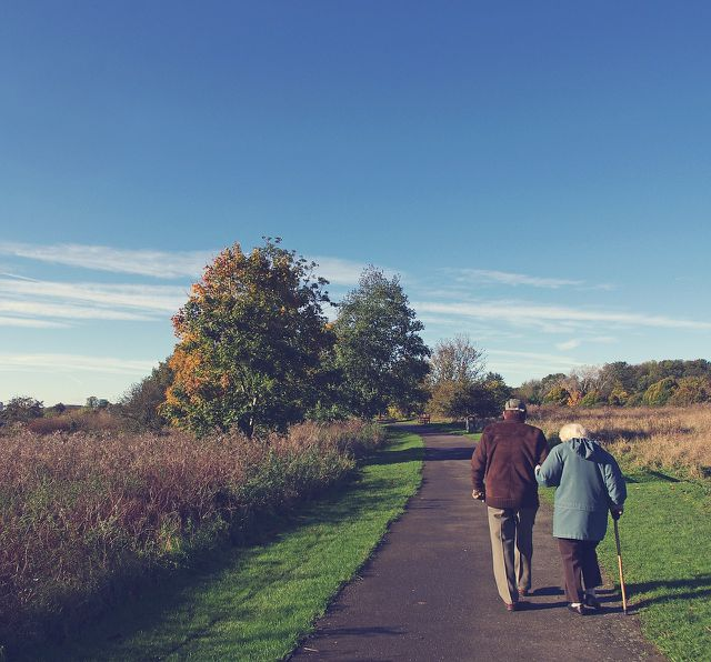 Das Risiko eines Frühtods wird durch regelmäßige Spaziergänge erheblich gesenkt
