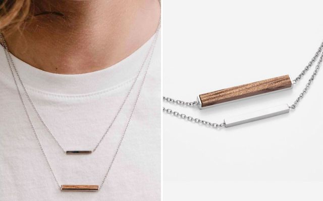 Halskette Rectangle