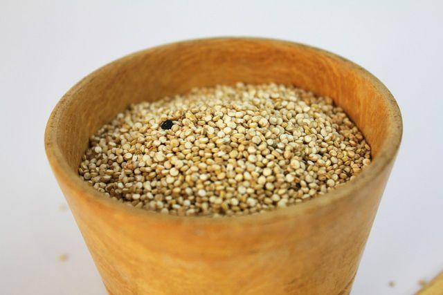 Amaranth ist reich an Lysin und damit eine gute Alternative zu Getreide.
