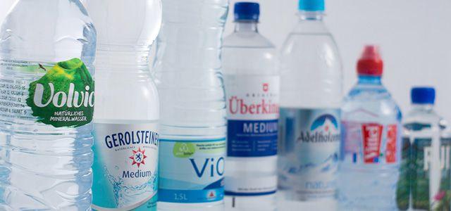 Wasser in Flaschen: Verbraucher haben eine große Auswahl