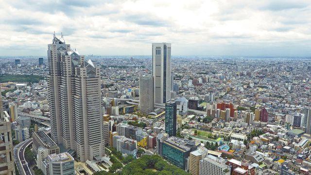 Urbanisierung: Tokyo ist die größte Megacity der Welt.