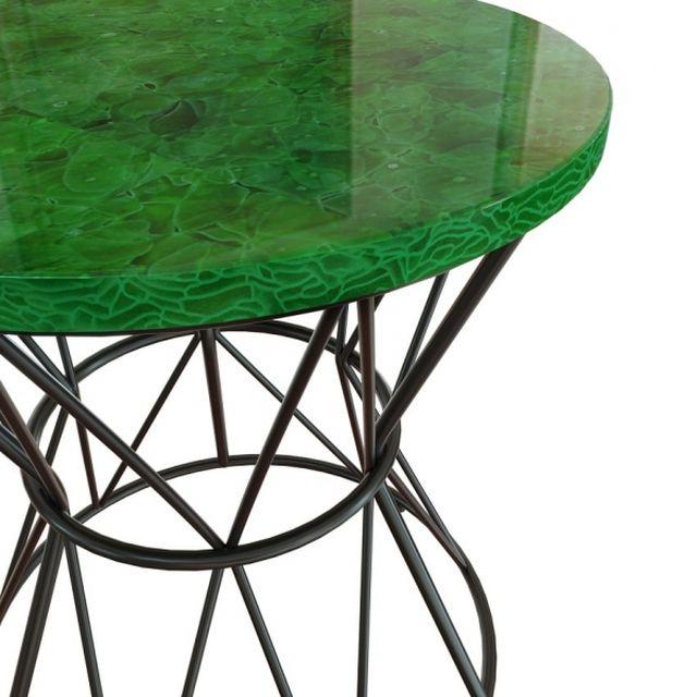 Beistelltisch aus recyceltem Glas von Magna Atelier