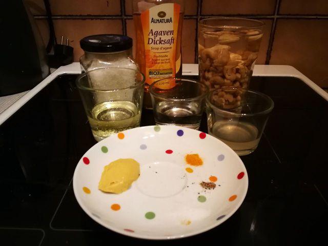 Diese Zutaten benötigst du für vegane Cashew Mayonnaise