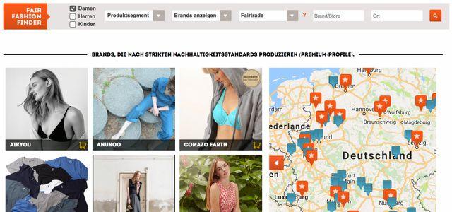 Fair Fashion Finder von getchanged.net