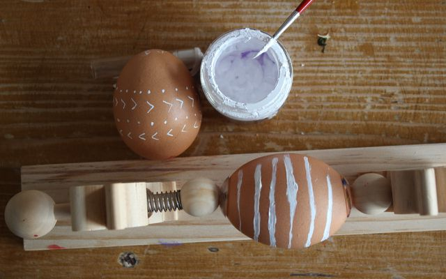 Anleitung 1: Ostereier bemalen für Minimalisten – Schritt 2