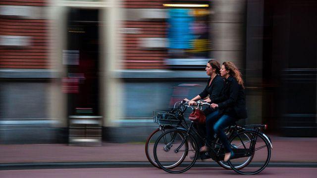fahrrad trick holländergriff
