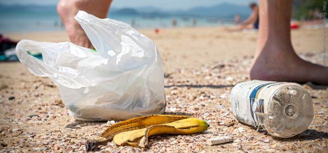 Am Weltumwelttag mal Müll aufheben und richtig entsorgen.