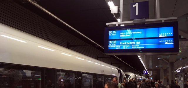 Von Berlin nach München in knapp 4 Stunden: dank ICE-Sprinter