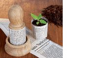 Gartenzubehör Aussaattöpfchen Waschbär