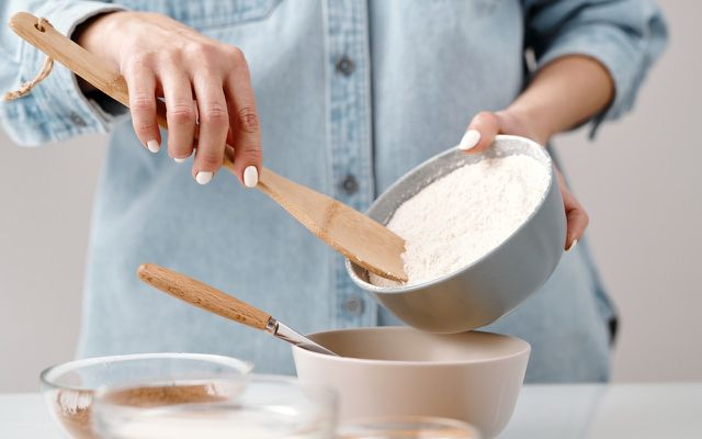 baking water cake