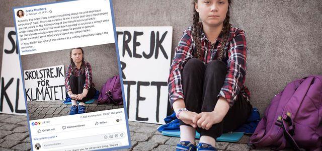 Greta Thunberg Facebook: Jetzt Wehrt Sich Greta In Einem Offenen Brief Gegen