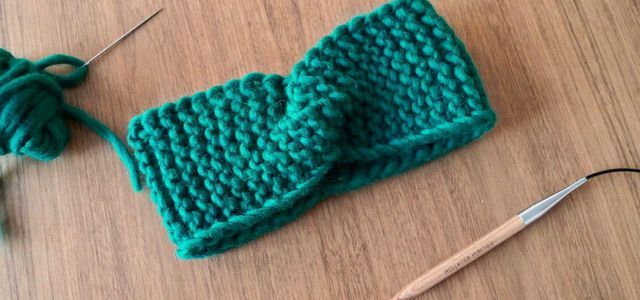 Knitted headband how to knit a headband instructional guide