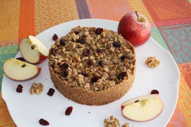 Ein Kuchen-Klassiker in veganer und gesunder Form.