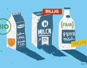 Milch kaufen, aber welche: Bio? Heumilch? Fair? Regional? Frischmilch? Vollfett?