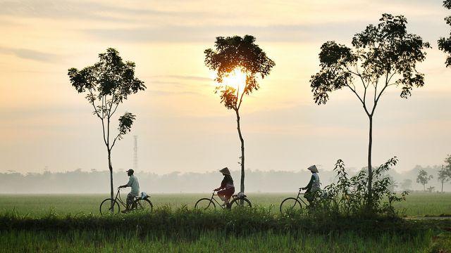 Eine Fahrradtour zeigt dir mehr von der Welt als eine Taxifahrt.