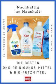 Öko-Reinigungsmittel & Bio-Putzmittel: Unsere Empfehlungen