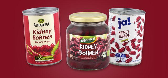 Kidneybohnen im Test