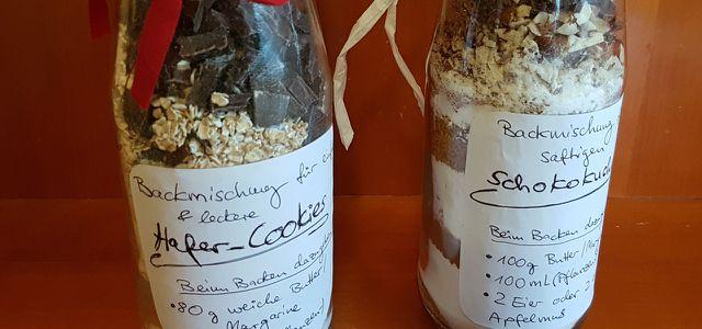 backmischung im glas 2 rezepte fur das selbstgemachte mitbringsel