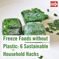 Freeze Foods without Plastic: 6 Sustainable Household Hacks