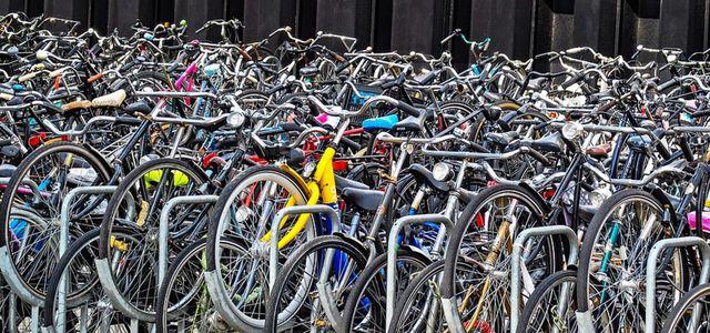 amsterdam parkhaus fahrräder
