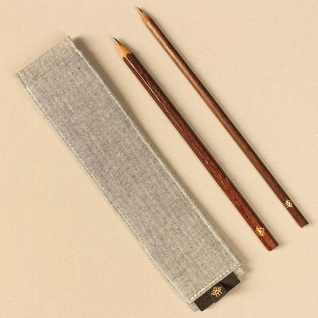Bleistifte von manaomea. Material ersetzt Plastik und Holz.
