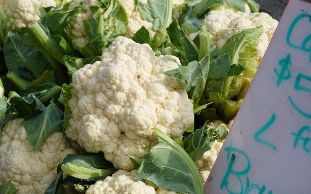 Reuse Vegetable scraps cauliflower