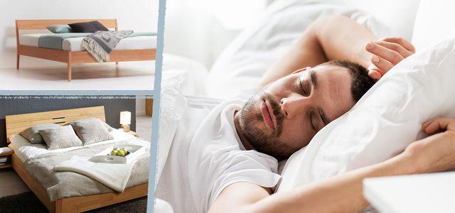 In einem nachhaltigen Bett schläft es sich immer noch am besten.