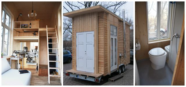das 100 euro haus von le mentzel in berlin tiny house. Black Bedroom Furniture Sets. Home Design Ideas
