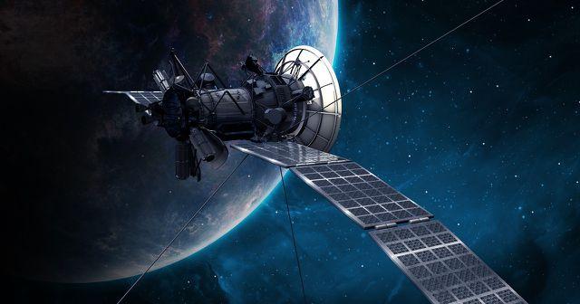 Satelliten versorgen die Klimaforscher:innen mit Daten.