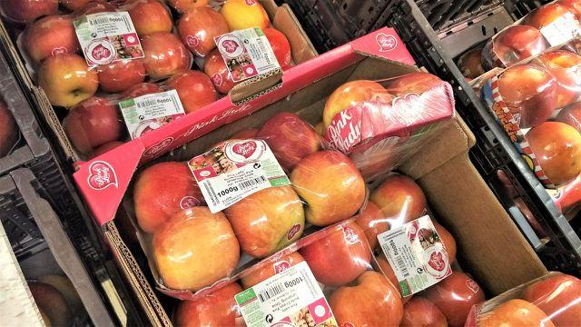 Pink Lady in der Kritik: Viel Werbung für einen Apfel.