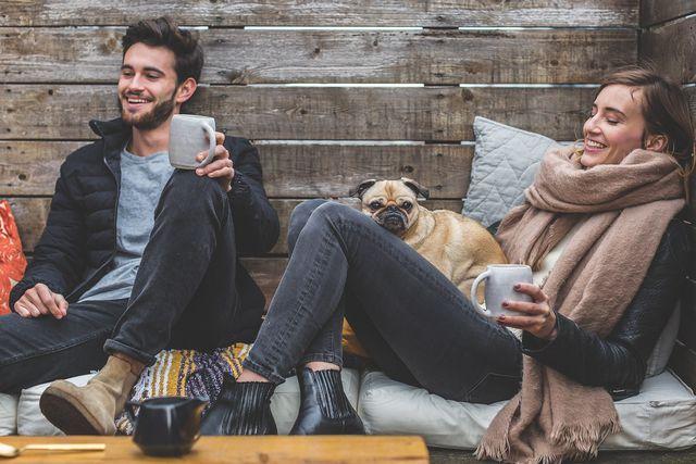 Zeit mit Freunden und Familie kann helfen