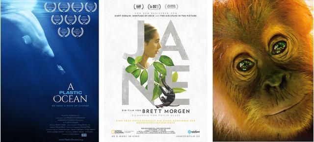 A Plastic Ocean (2016), Jane (2017), Unser Planet (2019)