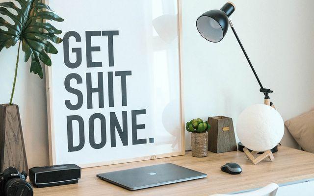 Desk organization ideas streamline your workflow get shit done