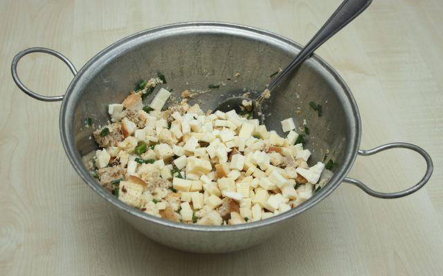 Kaspressknödel schmecken je nach Käsesorte immer wieder ein bisschen anders.