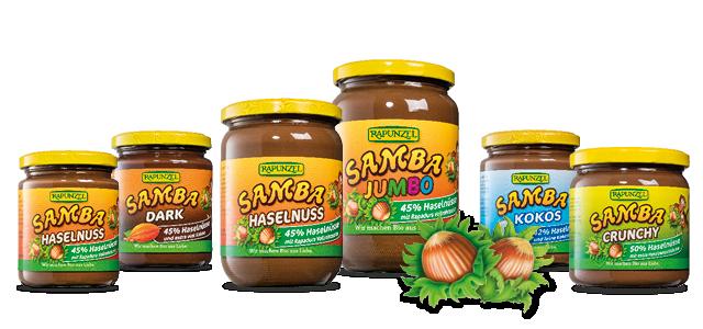 Rapunzel Produkte mit fairem bio Palmöl