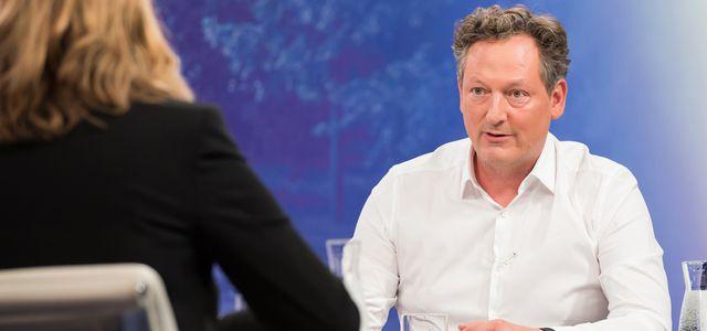 Eckart von Hirschhausen bei Maybrit Illner z. Thema Klimakrise