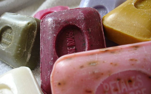 Natural DIY body wash bar soap