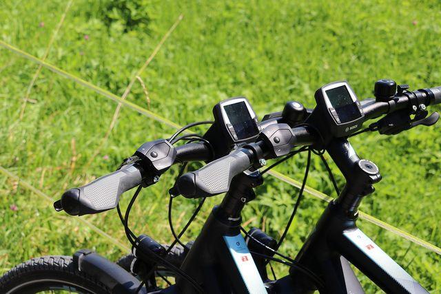 E-Bikes kannst du auch mieten.