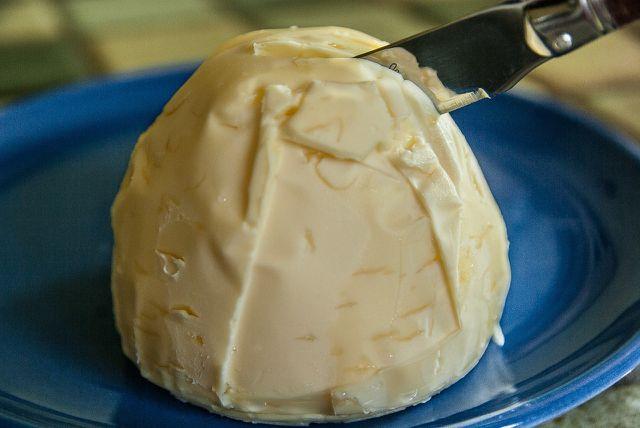 Die einzige Zutat für Ghee: Butter, Butter im Test