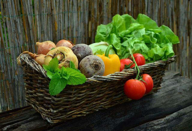 Als Mitglied im Kartoffelkombinat erhälst du jede Woche eine Gemüsekiste.