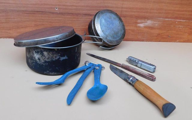 zero waste travel camping utensils