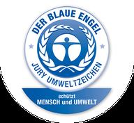 Öko-Siegel für Wandfarbe: Weniger Konservierungsstoffe, Lösungsmittel und Weichmacher.