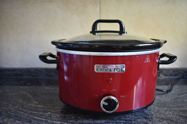 A slow cooker is a great way to cook a hearty dinner that doesn't require much attention.